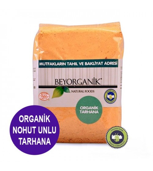 Beyorganik Organik Nohut Unlu Tarhanası 400 Gr