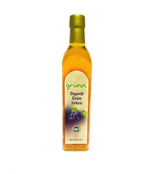 Grünn Organik Üzüm Sirkesi 500 ml
