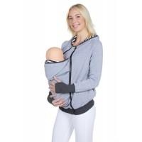 LuvmaBelly 4501 Pamuklu Bebek Cepli (Cepsiz de Kullanılabilen) Sweat