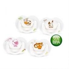 Avent 0% BPA Free Flow Yalancı Emzik 0-6 ay Truman Serisi 2'li