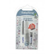Baby Time Çıt Çıt Bebek Tırnak Makası - Törpü Hediyeli