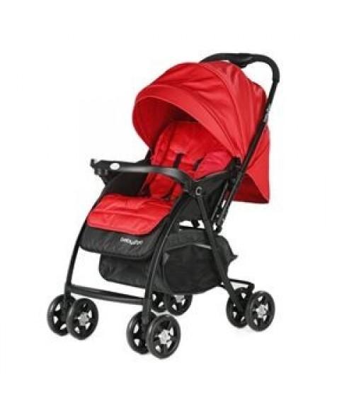 Baby2go 6021 Soft Çift Yönlü Bebek Arabası - Kırmızı