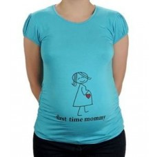 Elija Hamile Kısa Kollu Kalp T-Shirt