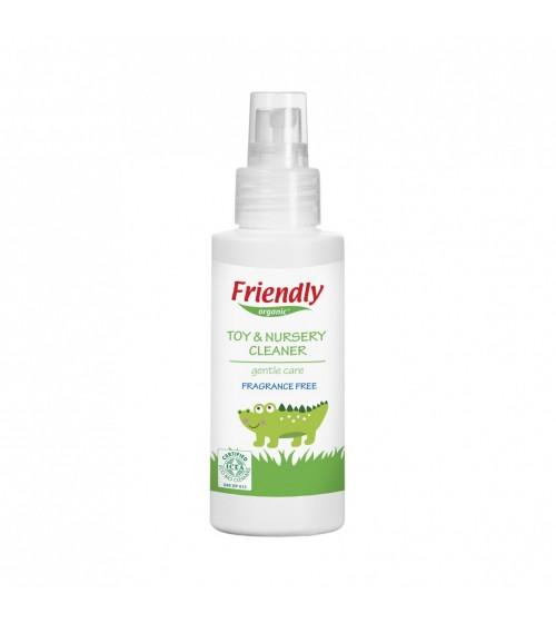 Friendly Organic Oyuncak ve Yüzey Temizleyici Parfümsüz - 100 ml