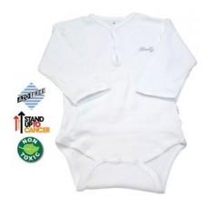 Sema Baby Uzun Kol Kaşkorse Badi (Body) - Beyaz