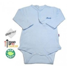 Sema Baby Uzun Kol Kaşkorse Badi (Body) - Mavi